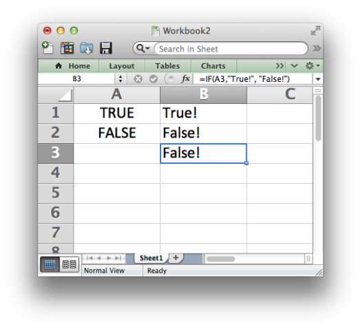 excel window